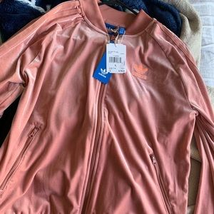 Brand new woman adidas velvet sweater